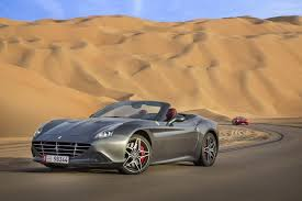 ferrari manifesto the ferrari california t deserto rosso makes its dessert debut