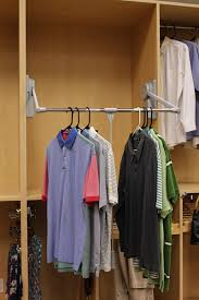 pull down closet hanger bar the helpful pull down closet rod