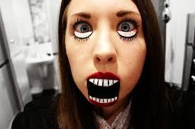 Big Mouth Halloween Makeup Big Doll Eyes Halloween Makeup Images