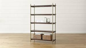 Staggered Bookshelves by Addison Brass Staggered Bookcase