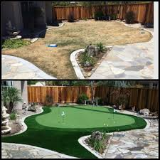 Small Backyard Putting Green Backyard Putting Greens Do It Yourself Home Outdoor Decoration