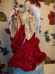 cheap unique angel tree topper porcelain christmas angels angel