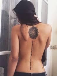 best 25 spinal ideas on spine tattoos spine