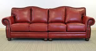 Red Loveseat Kennedy Sofa U2039 U2039 The Leather Sofa Company