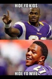 Ray Rice Memes - ray rice adrian peterson domestic violence charges hide yo kids