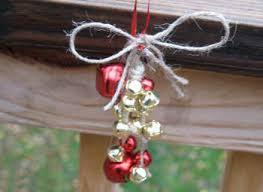 jute jingle bell decoration family crafts