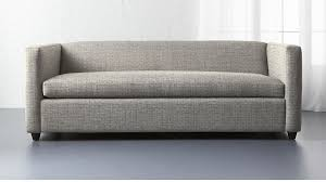 Sofas Sleepers Salt And Pepper Sleeper Sofa In Custom Order