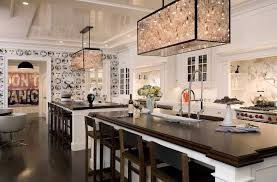 two kitchen islands design ideas