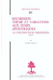 si e apostolique th n 091 soumission thème et variations aux temps apostoliques la
