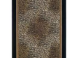 Leopard Bathroom Rugs Leopard Bath Rug Tapinfluence Co