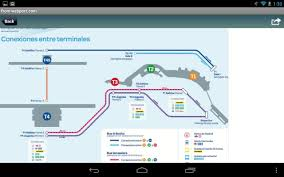 Seattle Airport Terminal Map Madrid Airport Flight Tracker Android Apps On Google Play