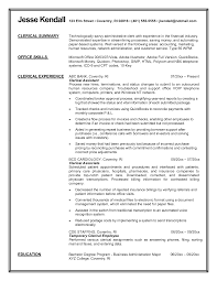 office clerical resume administrative clerical sle