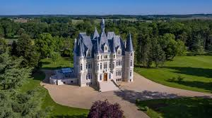 restored french chateau reminiscent of the disney castle up for grabs this grand chateau near poitiers is currently for sale having been restored to its former