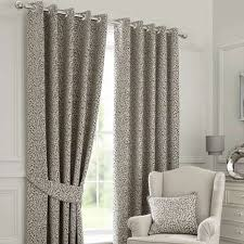 Dunelm Curtains Eyelet Willow Grey Lined Eyelet Curtains Dunelm