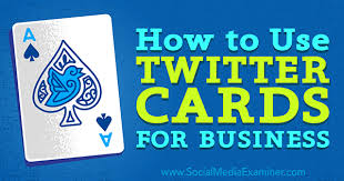 cards for business how to use cards for business social media examiner