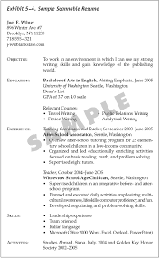 Scannable Resume Template Make A Resume Resume Cv