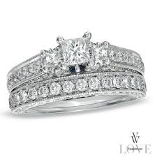 princess cut engagement rings zales 224 best vera wang images on vera wang
