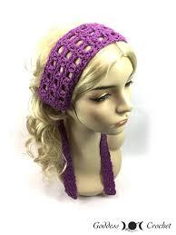 hippy headband hippie headband allfreecrochet
