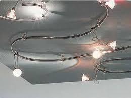 illuminazione su binario faretti con binario faretti