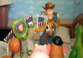 wow toy story recreated shot shot toys geekologie