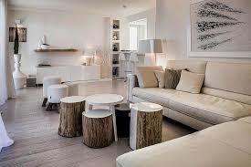 How To Make A Tree Stump End Table by Tree Trunk Decor Ideas Tables Stools Mirrors And Floating Shelves