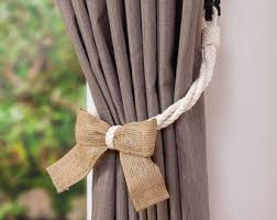 Tie Backs Curtains Curtain Tiebacks Etsy