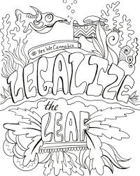 legalize the leaf coloring page imgur