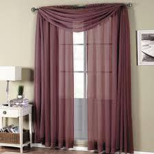 Contemporary Drapery Panels Cotton Rod Pocket Curtains