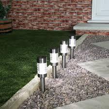 Best Solar Garden Lights Stainless Steel Solar Stake Lights Colour Changing Best Solar
