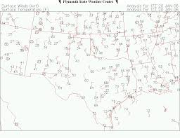 Surface Weather Map Lab Activity For Metr 104 Our Dynamic Weather Lecture W Lab