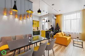 yellow apartment interior designio