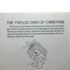 care bears the twelve days of book brown eyed