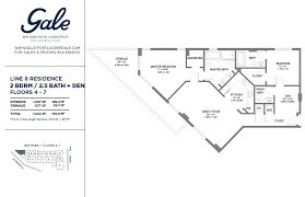 floor plan hotel the gale line 8 floor plan 2 bed 2 5 bath condo hotel