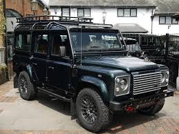 land rover jeep defender for sale land rover defender bowler 110 xs station wagon bowler fast road