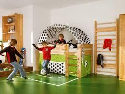 kids room cream maple wood sliding bunk bed toddler boys