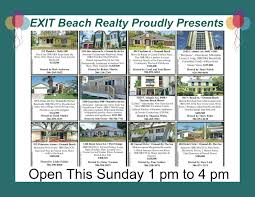 exit beach realty open houses greater daytona beach
