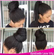 micro crochet hair havana crochet micro long twist braids hair synthetic lace front