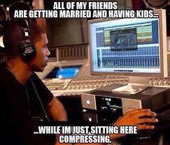 Audio Engineer Meme - magic okaino