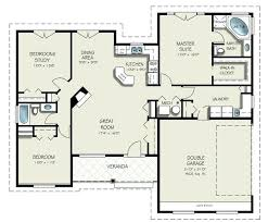 ranch style floor plans open ranch style house plans iamfiss com