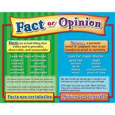 fact and opinion poster 8 1 2 x 11 printable