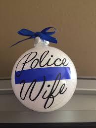 ornament by eatlivelovenola on etsy thin blue line