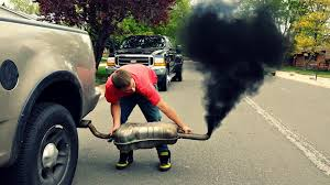 Ford F150 Truck Diesel - ford f150 4x4 rolling coal youtube