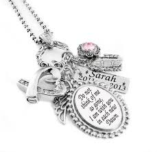 personalized necklace charms personalized engraved necklace choice of charms crystals and