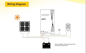 Solar Street Light Wiring Diagram - srne intelligent wireless mppt solar street light charge