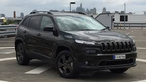 jeep cherokee black 2015 jeep cherokee 75th anniversary edition 2016 review carsguide
