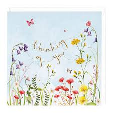 thinking of you flowers thinking of you floral sympathy card whistlefish