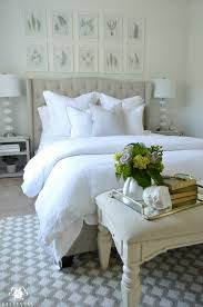Guest Bedroom Pictures - ideas for how to decorate the space above your bed driven by decor
