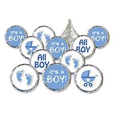 baby boy baby shower boy baby shower favors 324 stickers for kisses candies
