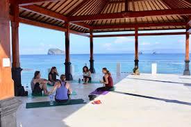 puri oka beach bungalow candidasa bali accommodation hsh stay