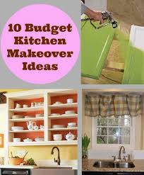 kitchen makeovers ideas 10 budget kitchen makeover ideas diy cozy home